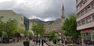 Гостеприимный город  Мостар (Босния и Герцеговина)