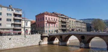 Сараево: город архитектурных контрастов (Босния и Герцеговина)