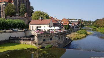 Город Гёрлиц, по которому прошла немецко-польская граница