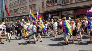 Как я посетил гей парад в Германии — один из крупнейших гей-парадов Европы и мира (18+)