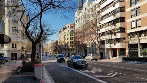 Испания центр Мадрида фото