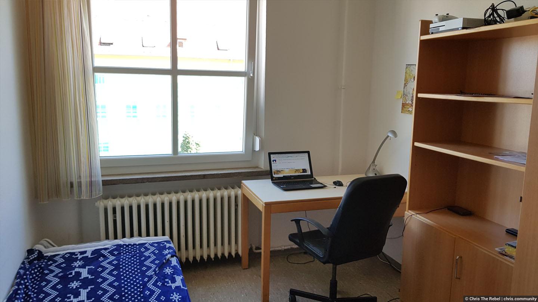 типичное студенческое общежитие в Германии
