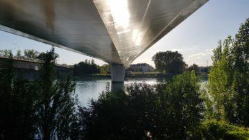Граница здорового человека: Страсбург (Франция) — Кель (Германия)